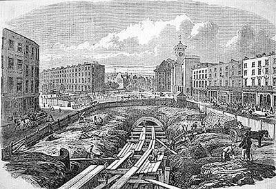 Строительство метро в Лондоне