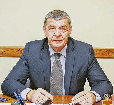 Начальник Барановичской транспортной базы Евгений Гребень