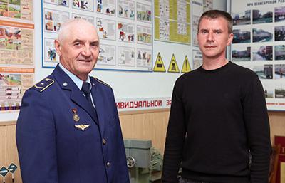 Владимир Болохнов с сыном Максимом