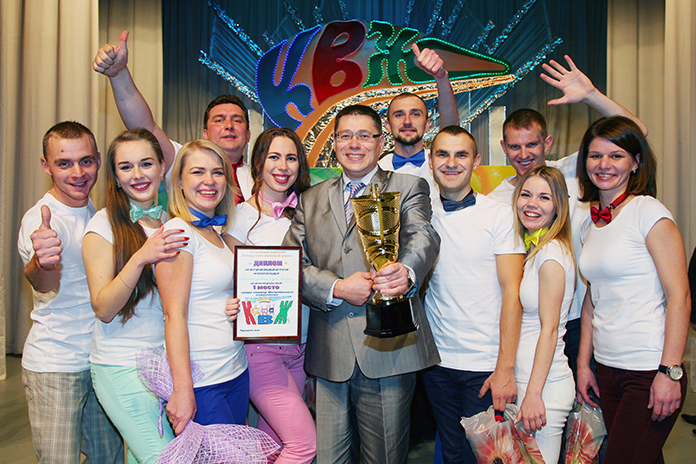"""Команда """"Второе дыхание"""" - победитель отделенческого этапа КВЖ"""